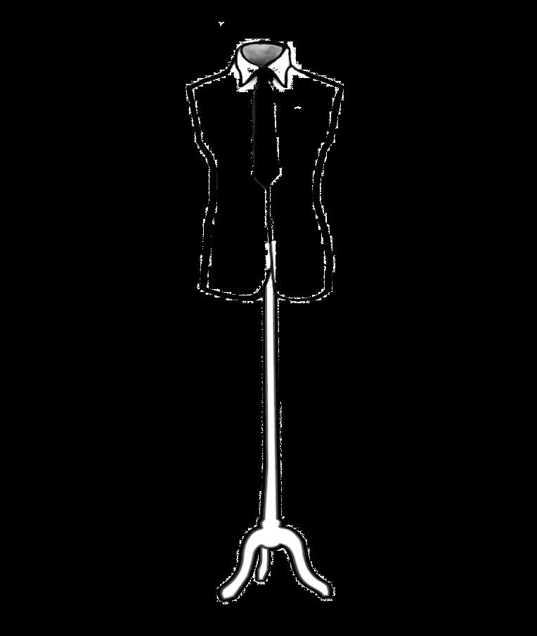 Herrenzimmer-Illustration